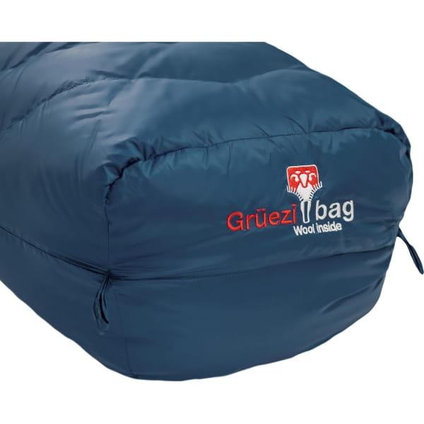 Grüezi Bag Biopod DownWool Ice Women - Daunen- & Wollschlafsack ice blue - Bild 12