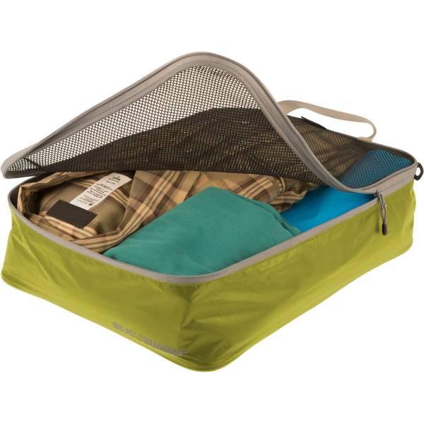 Sea to Summit TravellingLight™ Garment Mesh Bags Größe M lime-grey - Bild 2
