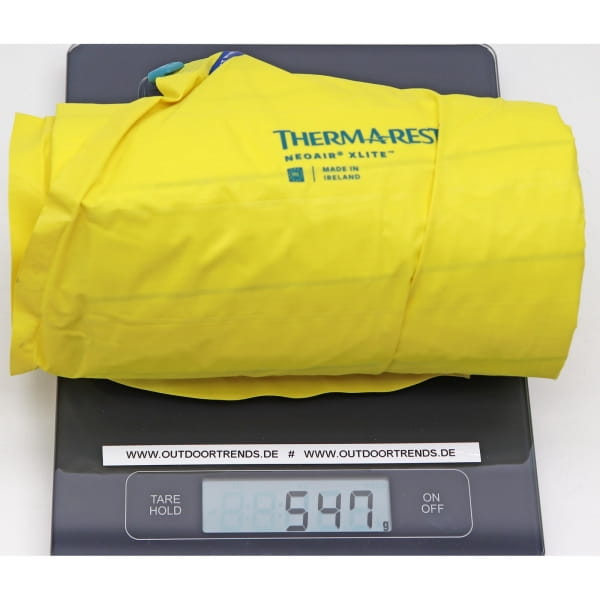 Therm-a-Rest NeoAir XLite - Luftmatratze lemon curry - Bild 5