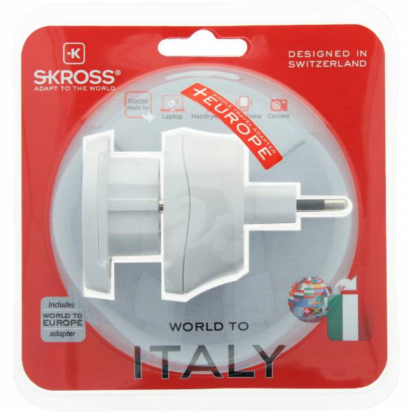 SKROSS Combo World to Italien - Steckeradapter - Bild 6