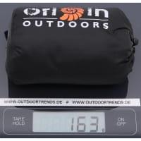 Vorschau: Origin Outdoors Sleeping Liner Ripstop Habotai Seide dunkelgrau - Bild 4