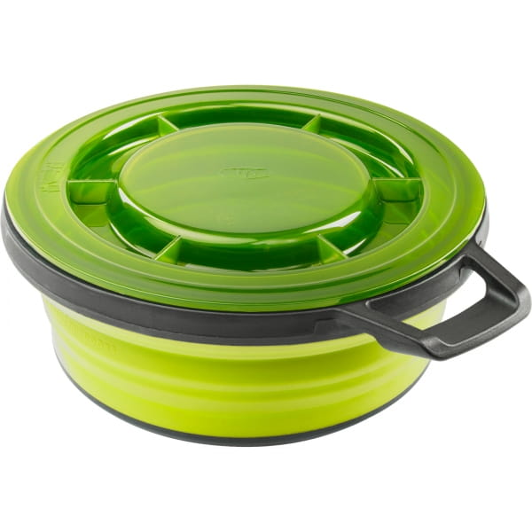 GSI Escape Bowl + Lid - Falt-Schüssel mit Decke green - Bild 10