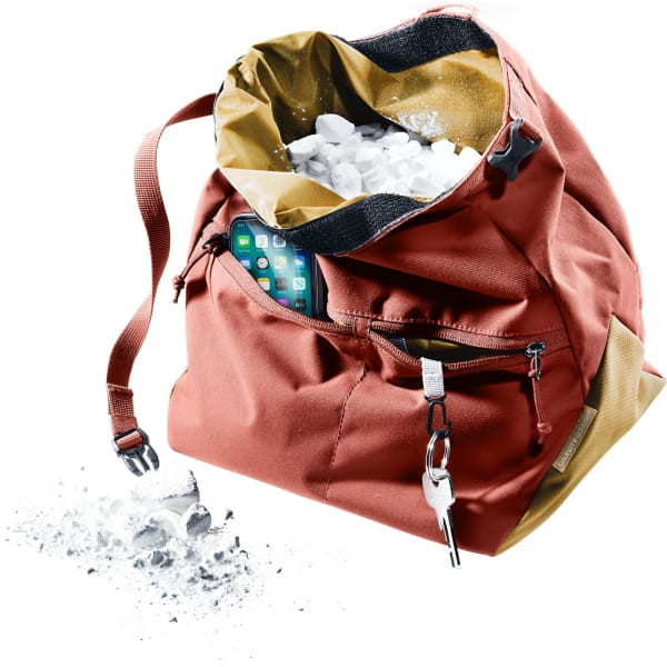 deuter Gravity Boulder Bag - Chalkbag redwood-clay - Bild 2