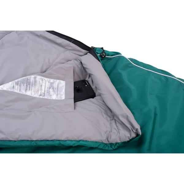 Grüezi Bag Biopod Wolle Goas Comfort - Deckenschlafsack dark petrol - Bild 7