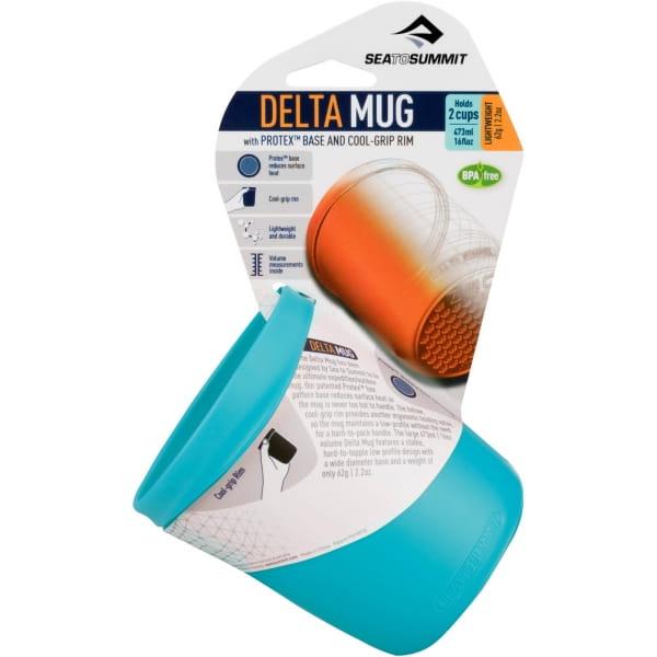 Sea to Summit Delta Mug - Trinkbecher pacific blue - Bild 9