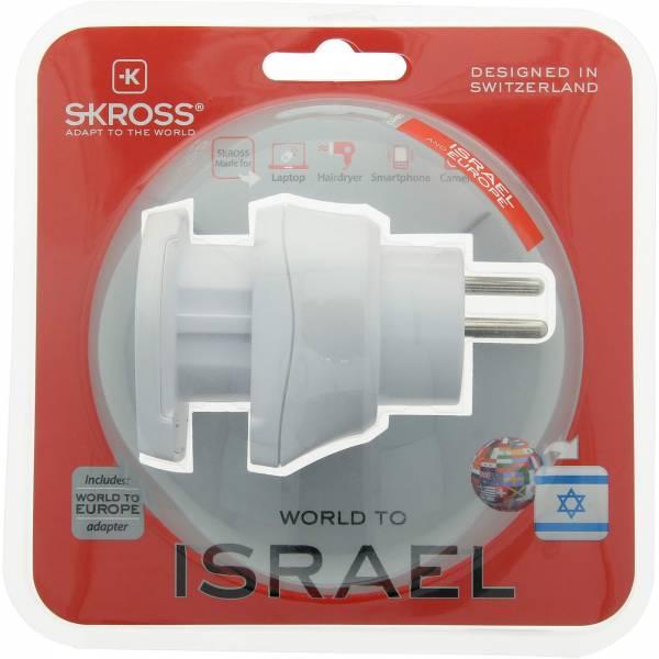 SKROSS Combo World to Israel - Steckeradapter - Bild 6