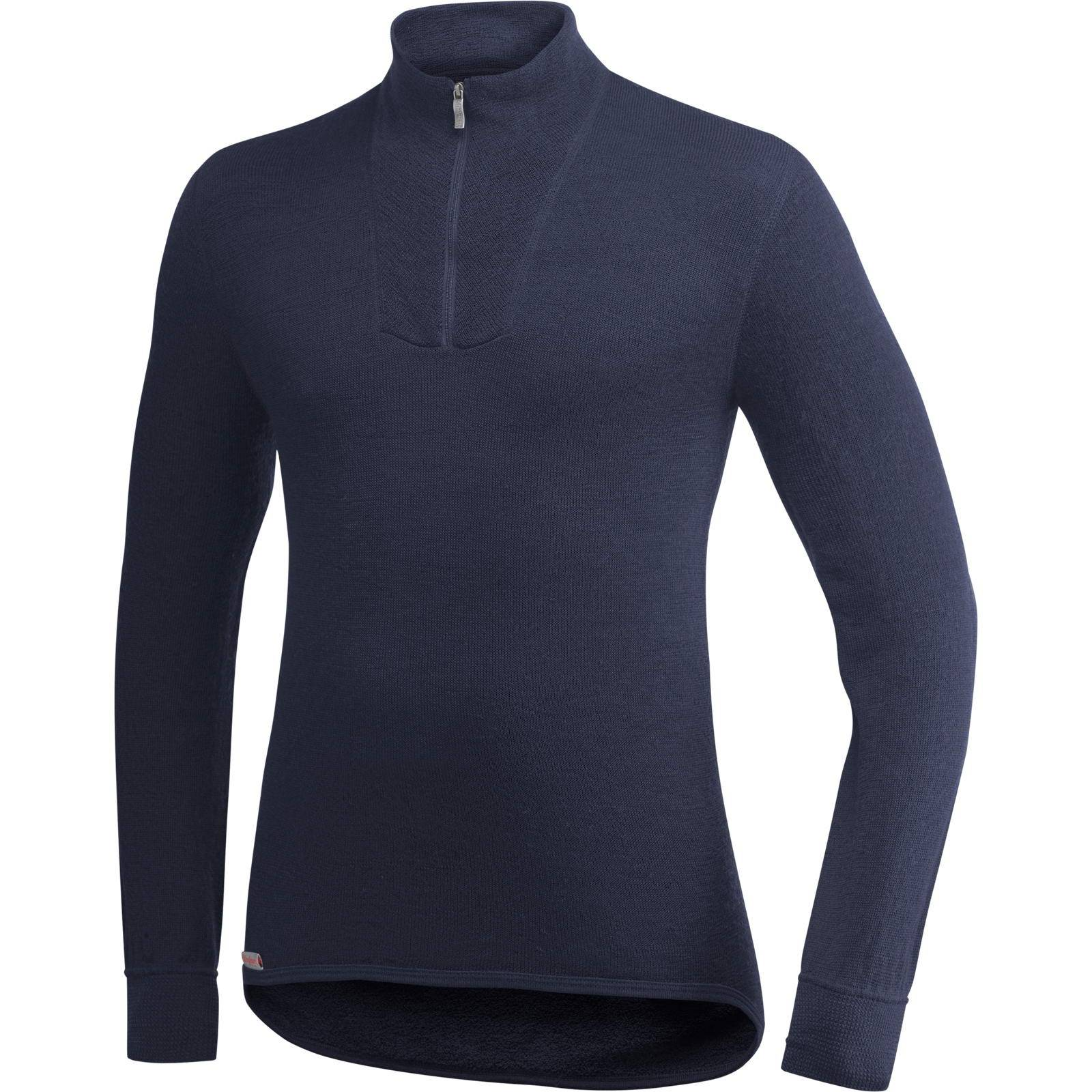 Woolpower POLO-Hemd 200 - Merino dark navy M