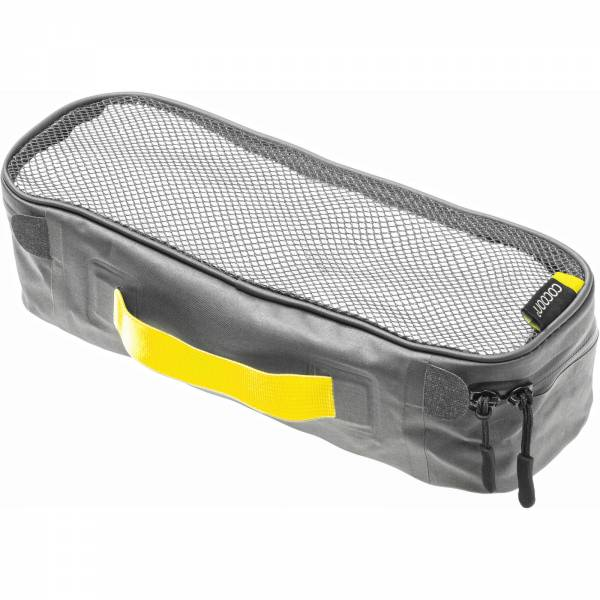 COCOON Packing Cube with Open Net Top S - Packtasche grey-yellow - Bild 3