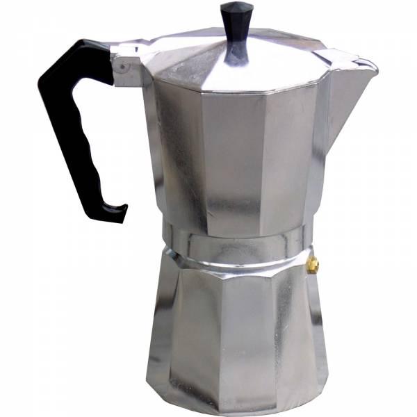 Basic Nature Bellanapoli - 9 Tassen Espresso Maker alu natur - Bild 1