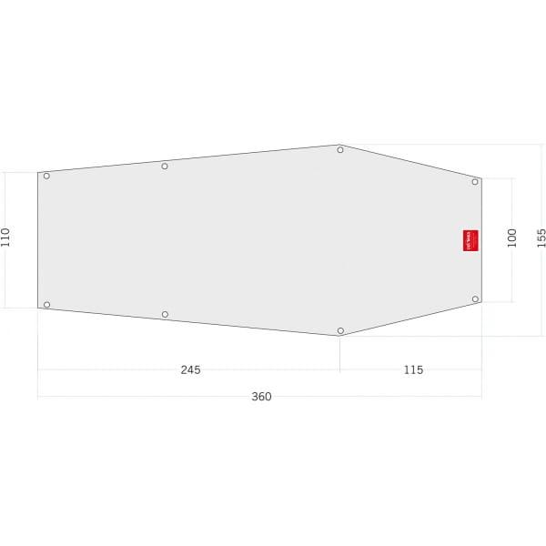 Tatonka Floor Sheet PE Narvik 2 - Zeltunterlage - Bild 1