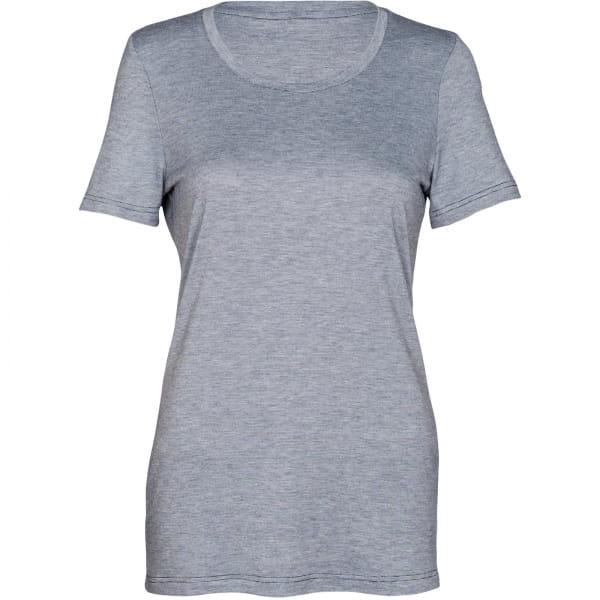 PALGERO Damen SeaCell-BioActive Birta Kurzarmshirt blau meliert - Bild 1