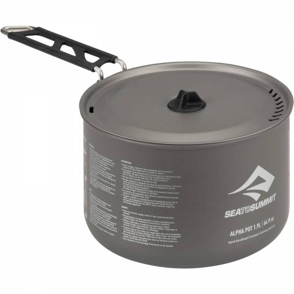 Sea to Summit Alpha Pot 1.9L - Aluminium-Kochtopf - Bild 2