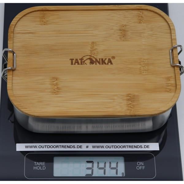 Tatonka Lunch Box I Bamboo 1000 ml - Edelstahl-Proviantdose stainless - Bild 2