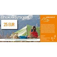 outdoortrends Geschenkgutschein - 25 EUR