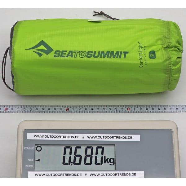 Sea to Summit Comfort Light Insulated Mat - Schlafmatte green - Bild 2