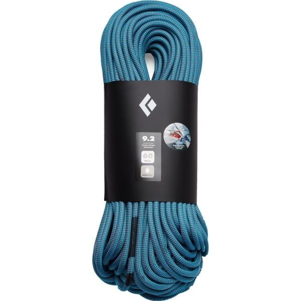 Black Diamond 9.2 Dry Rope - Kletterseil blue-red - Bild 1
