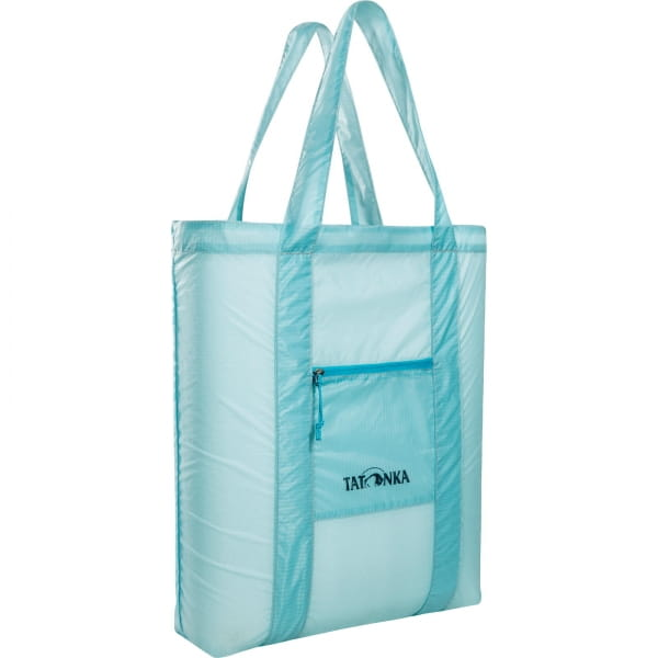 Tatonka SQZY Market Bag - faltbare Einkaufstasche light blue - Bild 9