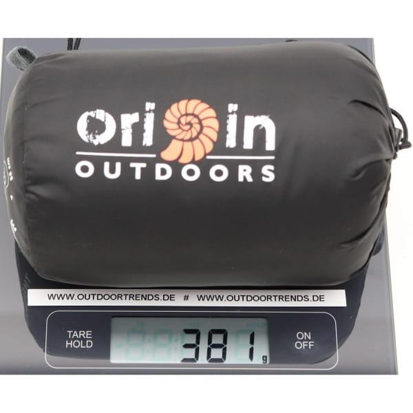 Origin Outdoors Sleeping Liner Thermolite dunkelgrau - Bild 5