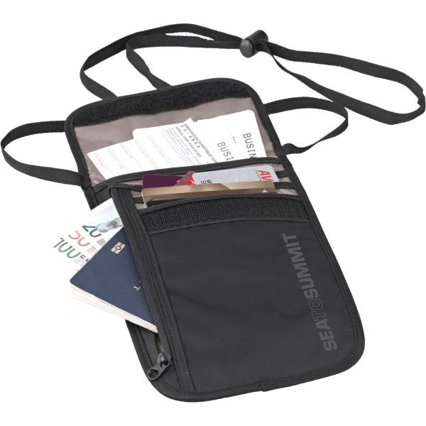 Sea to Summit TravellingLight Neck Wallet - Brustbeutel black-grey - Bild 1
