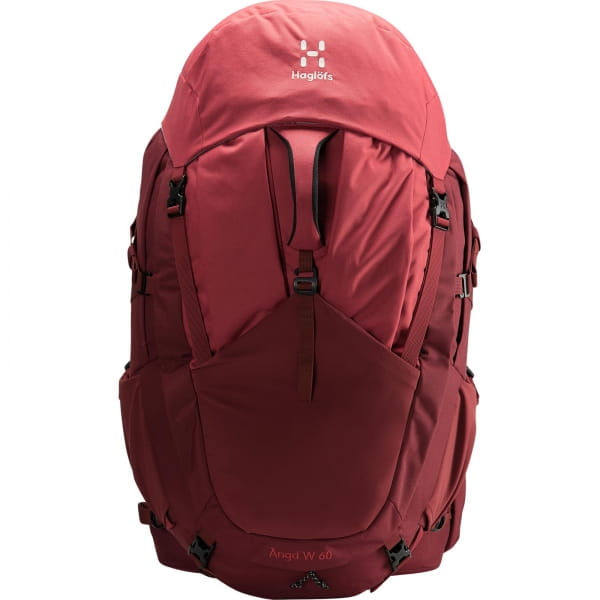 Haglöfs Ängd 60 Women's - Trekkingrucksack light maroon red-brick red - Bild 7