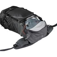 Vorschau: deuter Futura Air Trek 60 + 10 - Trekkingrucksack black-graphite - Bild 20